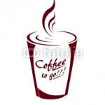 "Modalitate de promovare ""coffe to go"""